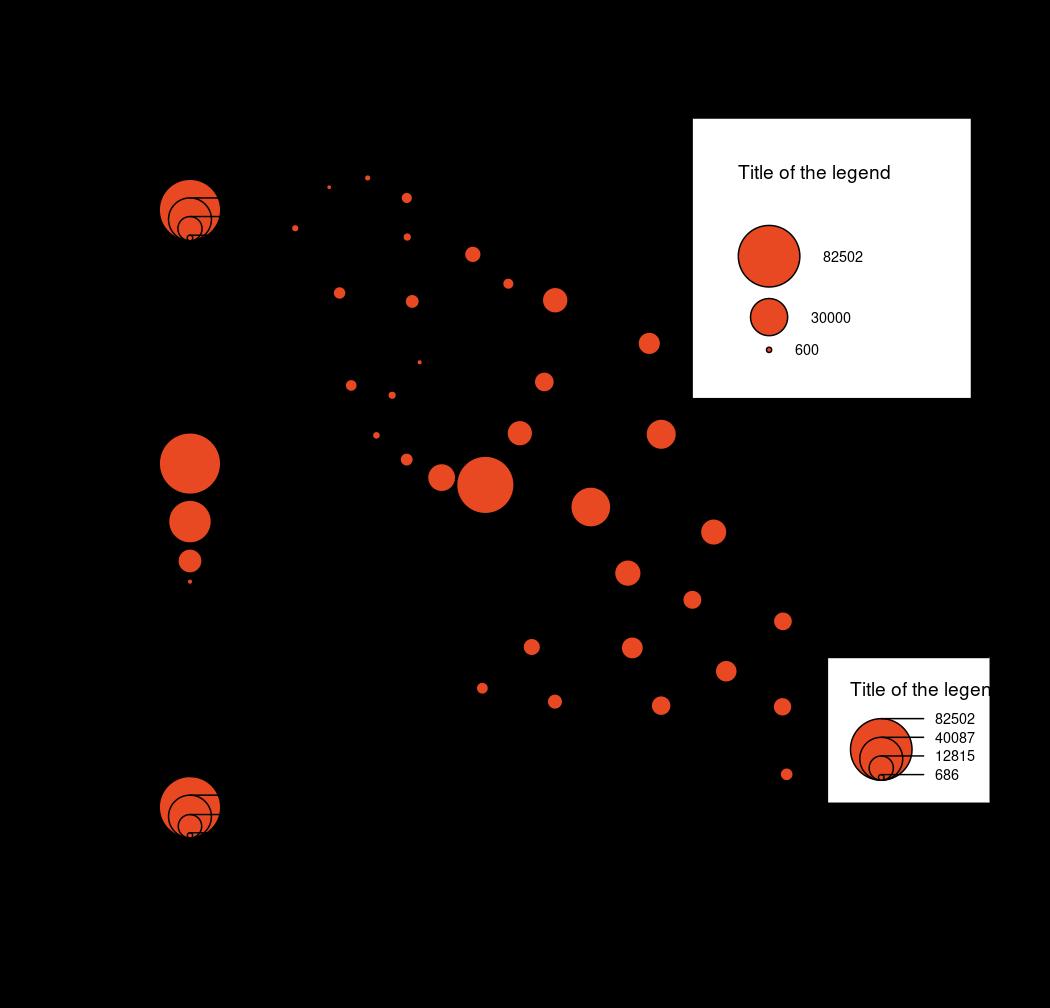 Legend for Proportional Circles Maps — legendCirclesSymbols